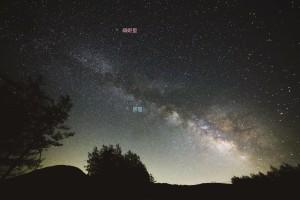 七夕の星・湯の丸高原